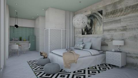 Light Human Hotels - Modern - Bedroom  - by bgref