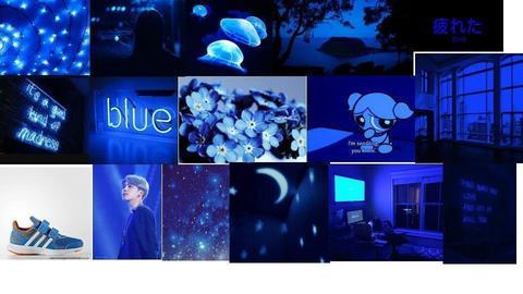 Blue Asethetic  - by Mango4