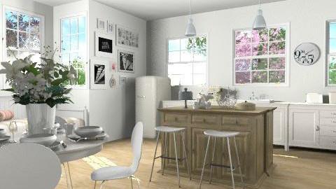 Wonderful White - Eclectic - Kitchen  - by xoxfranklinxox