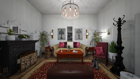 Victorian - Vintage - Living room  - by Irishrose58