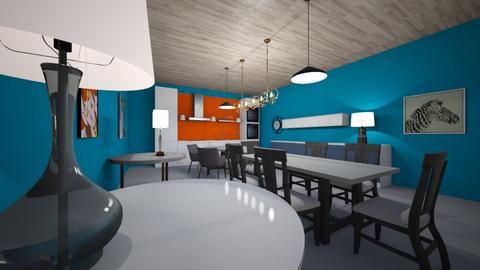 kalebdiningroom - Living room  - by kaleb 12345