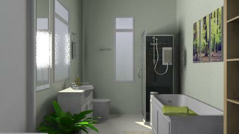 Wyuna2 - Country - Bathroom  - by Wyuna