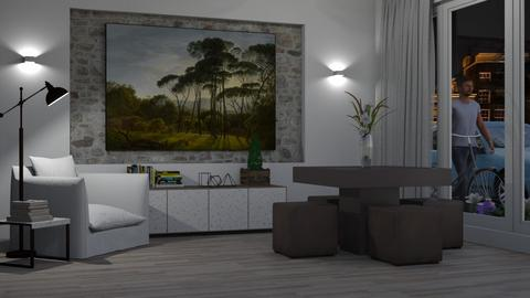 IP Terrazzo - Eclectic - Living room  - by Theadora