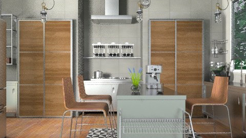 Industrialist - Modern - Kitchen  - by channing4