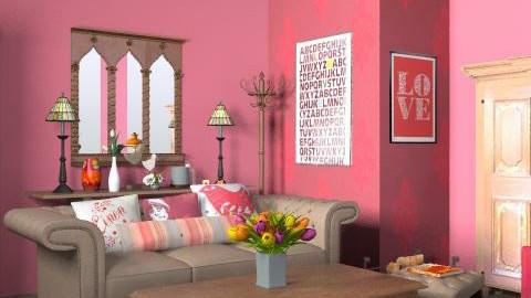 rustic living - Rustic - Living room - by yasemin04