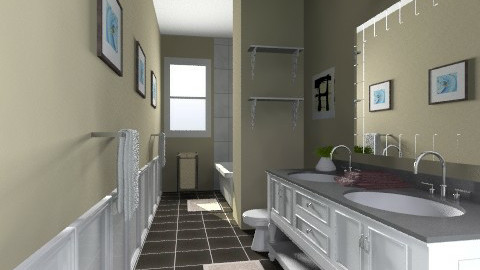 My Bathroom - Modern - Bathroom  - by dredre1030