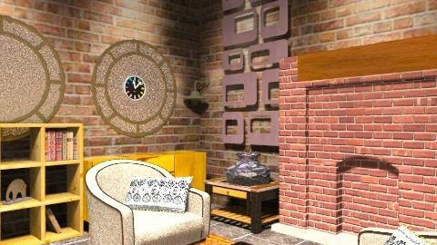 brick legend - Vintage - by evakiew