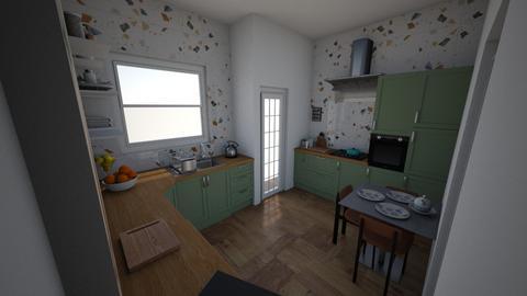 Nasmith Road - Kitchen  - by rachelbbridge