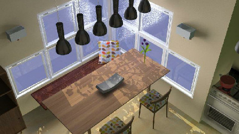 Kitchen and Dining Space - Dining Room  - by HilaryL31