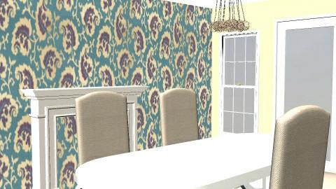 french style dining room - Dining Room  - by katieeeeeeeee