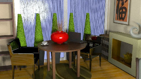 MB living/dining room 003 L3 - Dining Room  - by imnium