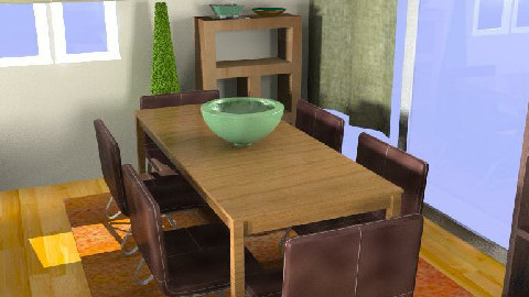 MB living/dining room 003 D - Dining Room  - by imnium