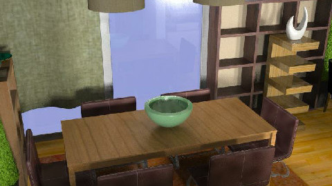 MB living/dining room 003 D2 - Dining Room  - by imnium
