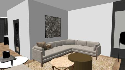 bouwnummer 3 - Living room  - by Mandycharlene