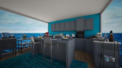 Ocean Kitchen - Kitchen  - by veronika3410