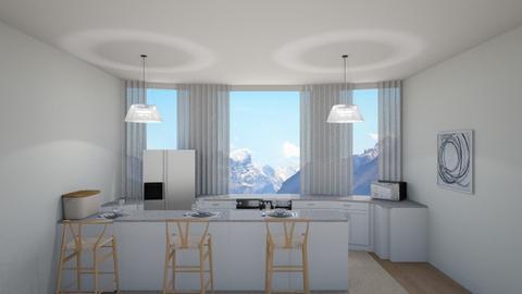 white - Kitchen  - by KenzTheRoomPlaner