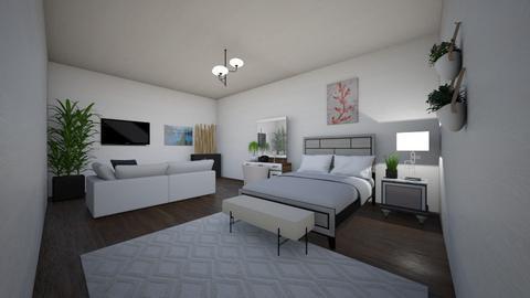 Modern  Medium Room - Modern - Bedroom  - by Maryam_123