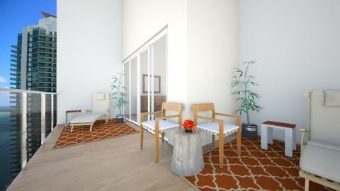 RisingBalcony - Rustic - Bedroom  - by Daisy de Arias