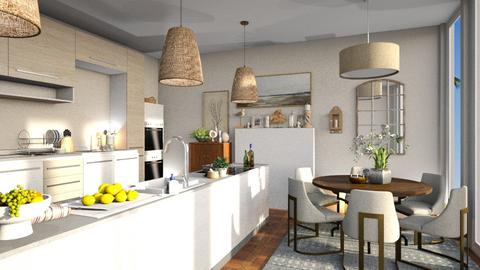 Beach Front - Kitchen  - by Anjuli