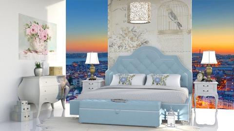 Rest in Lisbon - Vintage - Bedroom  - by soralobo