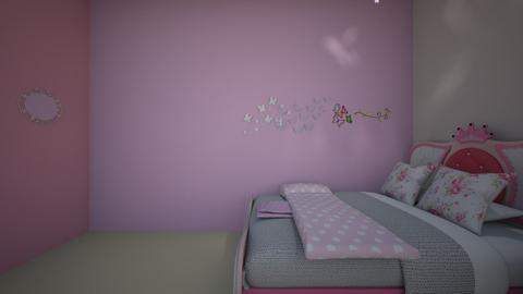 Royal Room - Feminine - Kids room  - by RoseGrangerWeasly