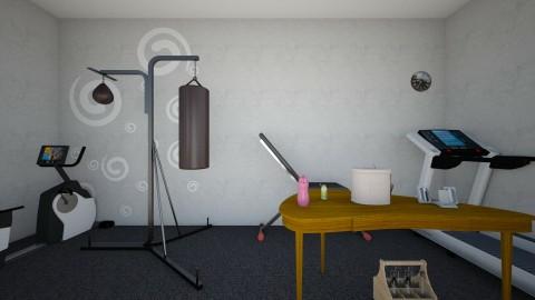 Gym  - Minimal - by Lifia Vania