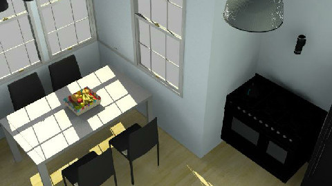 Kitchen and Dining Space - Dining Room  - by laura1996