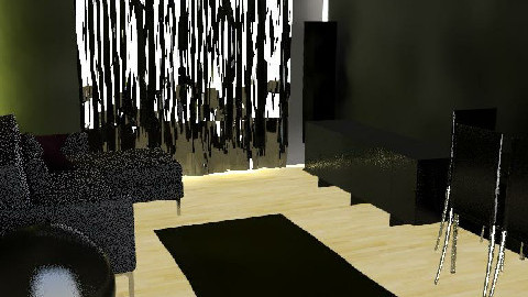 salon al reves - Dining Room - by izfair