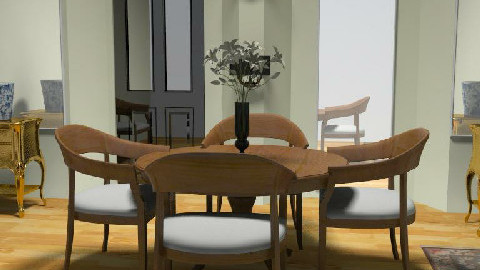 dining room - Dining Room  - by ory_ana
