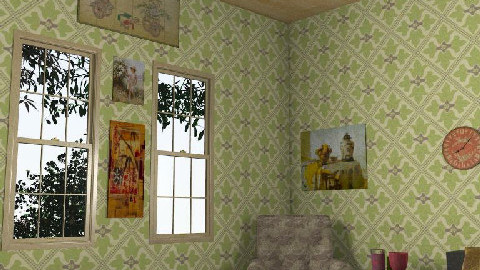 Bedroom at country house - Country - by streetchild