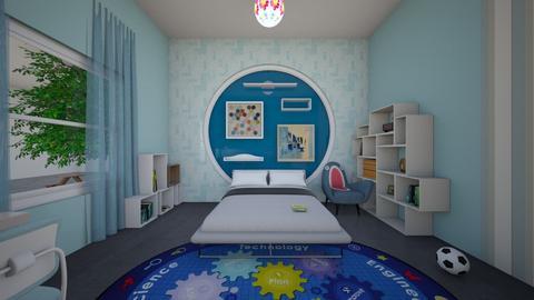 phong ngu 3 - Kids room  - by Duyxoan