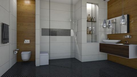 FandD Bathroom - Bathroom  - by rickglassinteriors