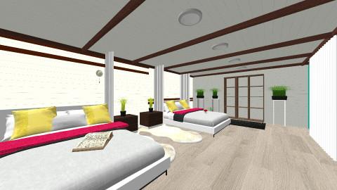 Domiki 2  - Living room - by avgranovski