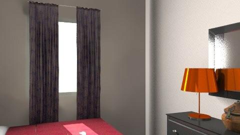 Aska New Bed 2 - Rustic - Bedroom  - by apikovsky