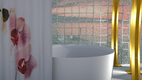 Modern Bath - Modern - Bathroom  - by bleeding star