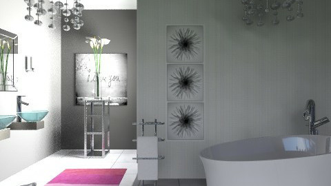 Delicate - Minimal - Bathroom - by milyca8