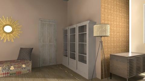 Sheek Design - Rustic - Bedroom  - by DaeDae