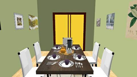 Dining Feast - Dining room - by Mya