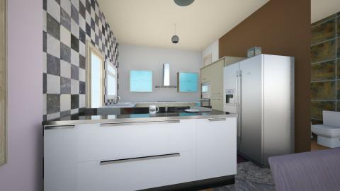 cocina de esta - Minimal - Kitchen  - by ZARIGUEYA