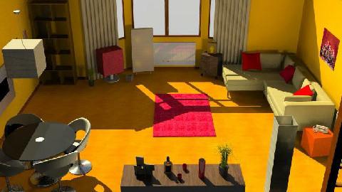 Telegraph4 week11 - 1.1 - Living room - by Norgi