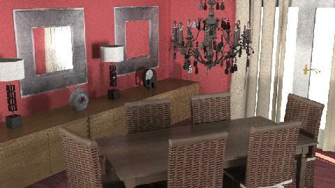 eetkamer4 - Dining Room  - by melleke