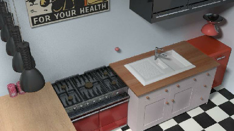 retro - Retro - Kitchen  - by cleopamoramor
