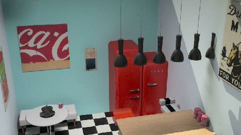 retro2 - Retro - Kitchen  - by cleopamoramor