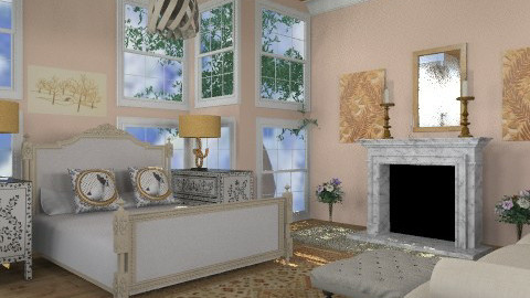 rachel - Classic - Bedroom  - by trees designs