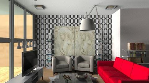 Living area - Modern - Living room - by Almas1991