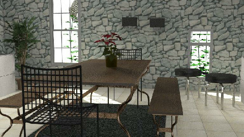 contemporany - Dining Room  - by ory_ana