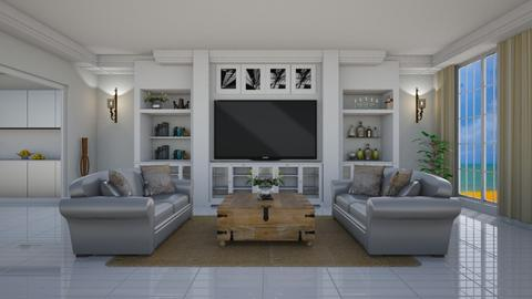 Joanna y Chip Gaines - Eclectic - Living room  - by deleted_1574768015_Elenn
