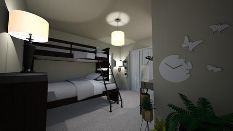 Secret Garden Room - Bedroom - by theSparklyPangolin