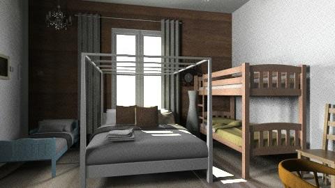Mokki1 - Country - Bedroom  - by sointu81