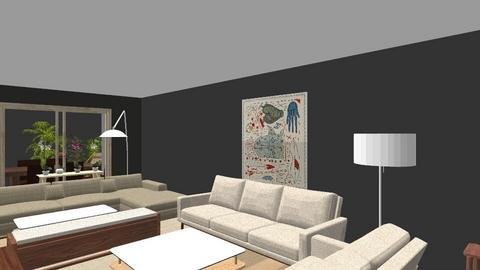 MB planta 2 - Living room  - by bpgarqs